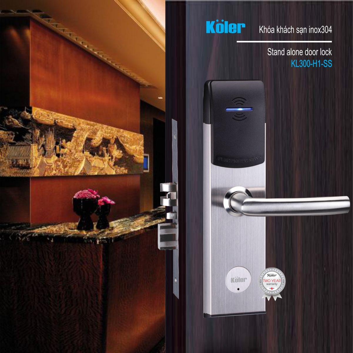 Khóa khách sạn Koler-germany KL300-H1-SS